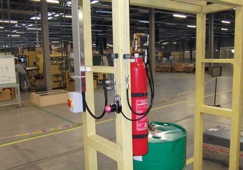 风管自动灭火系统