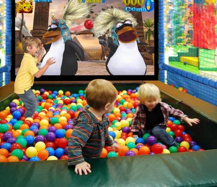 上展数字儿童益智娱乐多媒体互动解决方案