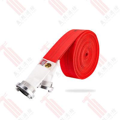 聚氨酯有衬里消防水带红色