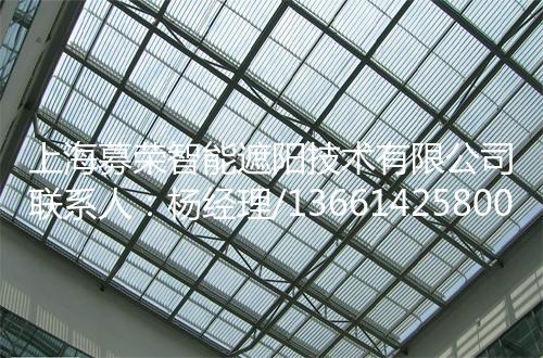 电动翻板百叶,上海募荣智能遮阳技术有限公司