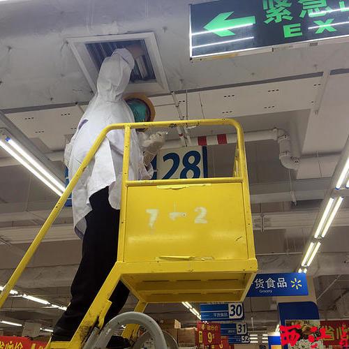 超市商场通风设备制作安装