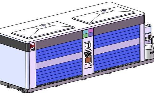 机器人焊接工作站-电池托盘焊接工作站