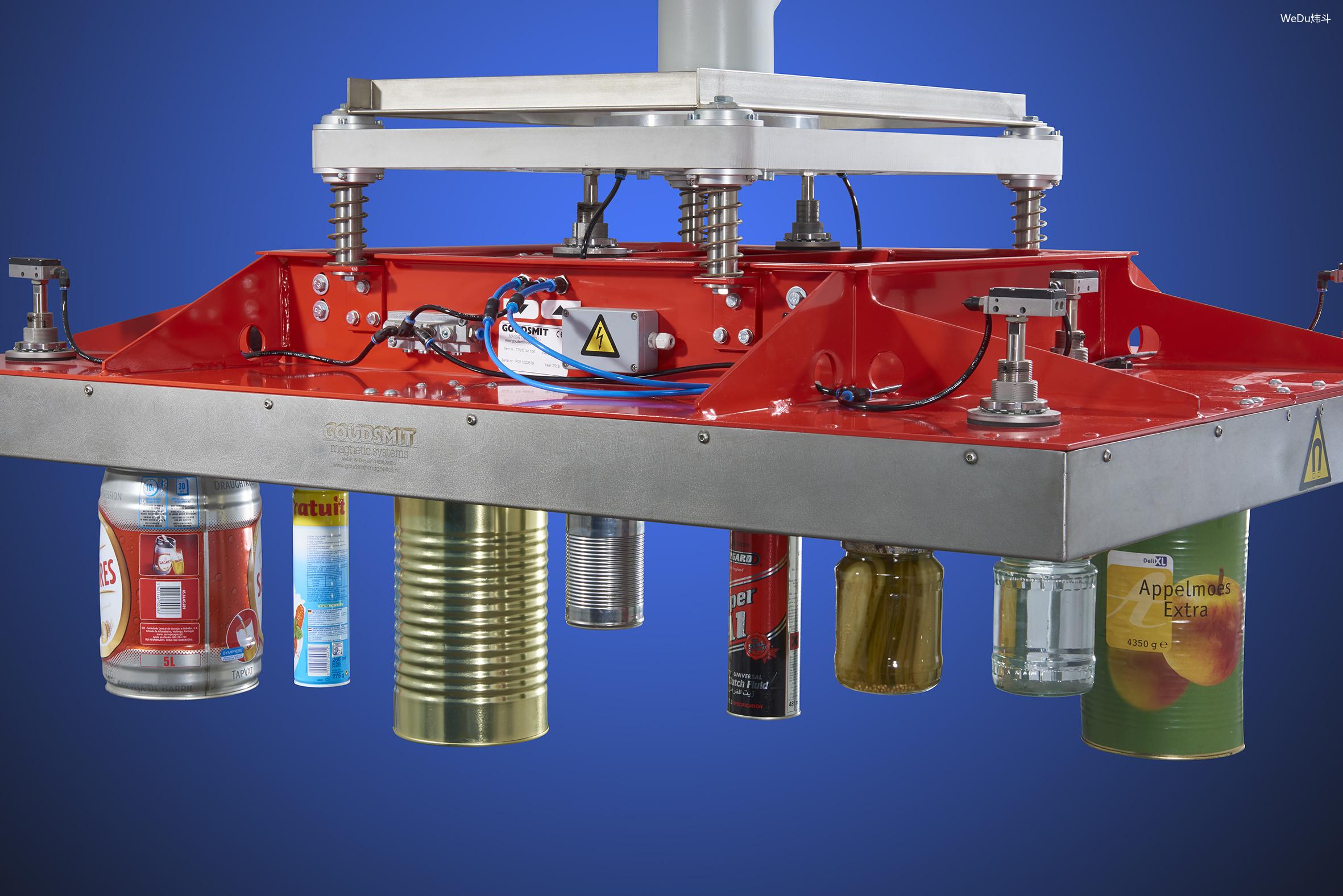 Modular palletizing magnet