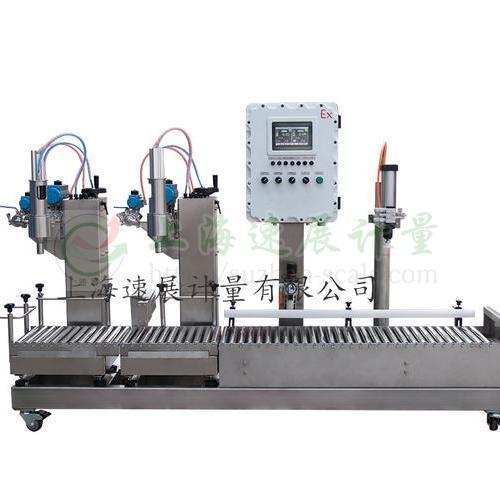 称重式液体灌装机 GAF-30S2-G-Ex型