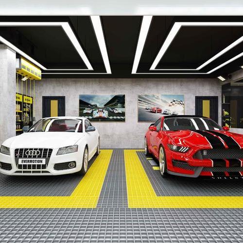 汽车美容店(效果图)