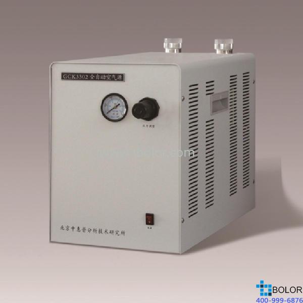 GCK3308 全自动空气源 输出流量:0-8000ml/min(0.4MPa状态下);输出压力:0-0.4Mpa
