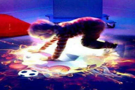 激光雷达在多媒体互动投影里的优势