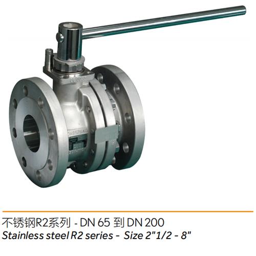 不锈钢R2系列---两片式球阀/2-piece ball valve