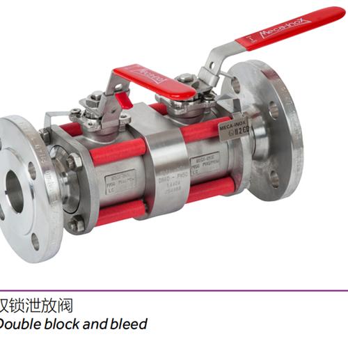 双锁泄放阀----应用球阀/Applicetion ball valve