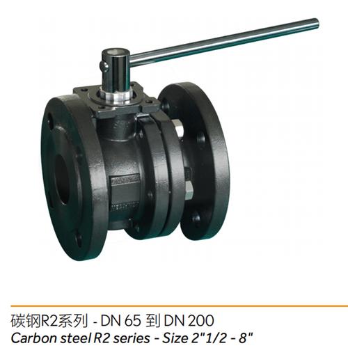 碳钢R2系列---两片式球阀/2-piece ball valve