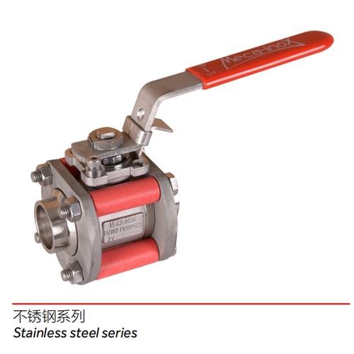 不锈钢系列---三片式球阀/3-piece ball valve