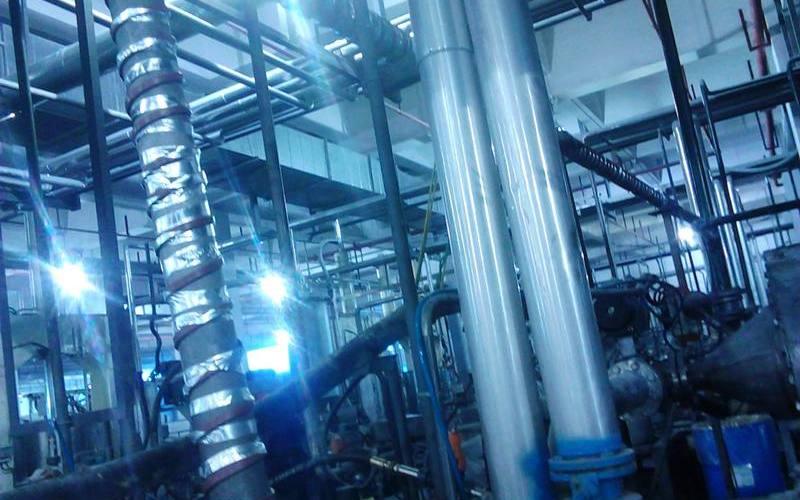 上海金山化工廠項目