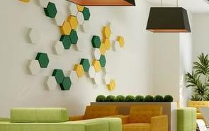 办公室休息区域如此设计,太绝妙了!