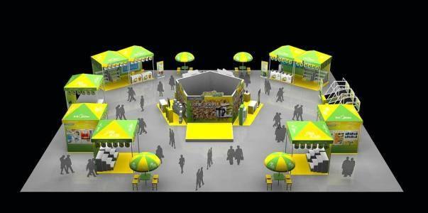 北京展台搭建设计_北京展会搭建设计_北京展览公司展览图片1