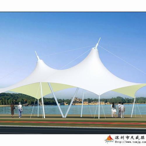株洲康馨佳园幼儿园景观膜结构工程