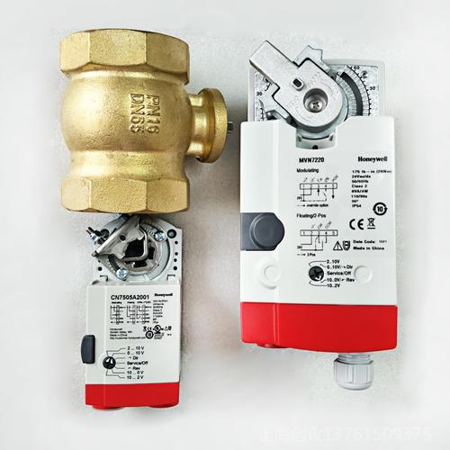 HONEYWELL电动二通球阀VBA216-080P-065P
