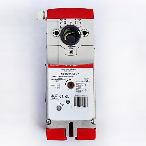 霍尼韦尔开关型弹簧复位风门执行器 CS8120A1007