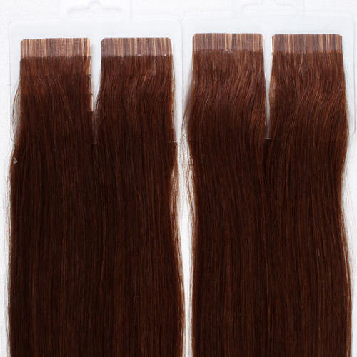 Flat Tape-in Extensions Brown