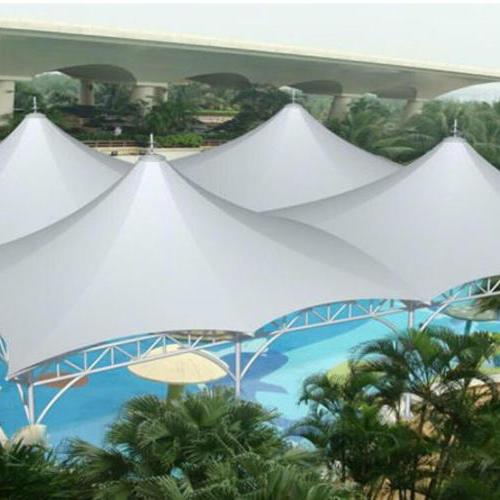 惠州巽寮湾景观区入口处膜结构工程