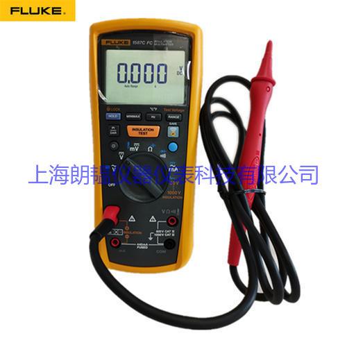 福禄克万用表 FLUKE 1587FC无线兆欧表绝缘电阻测试