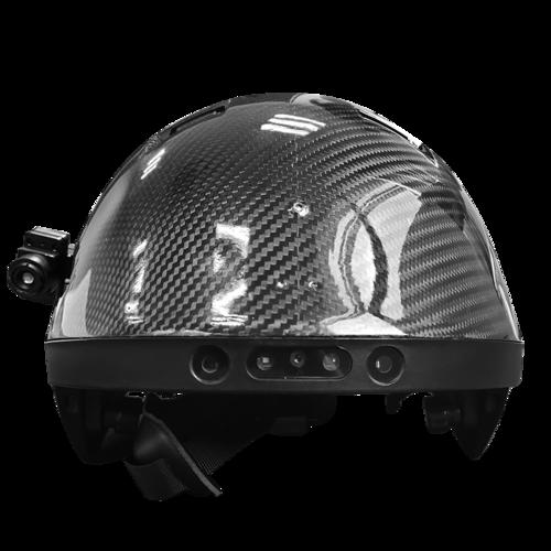 非接触式测温头盔YJ1778
