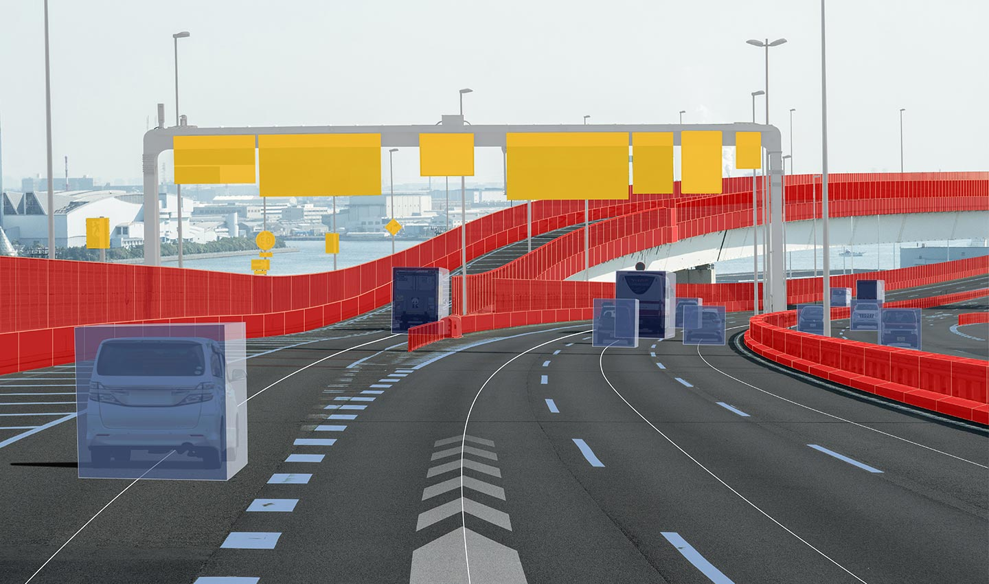 The TomTom HD Map delivers highly accurate, up-to-date and realistic representations of the road