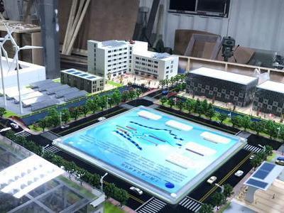 智慧城市 智慧环保能源沙盘