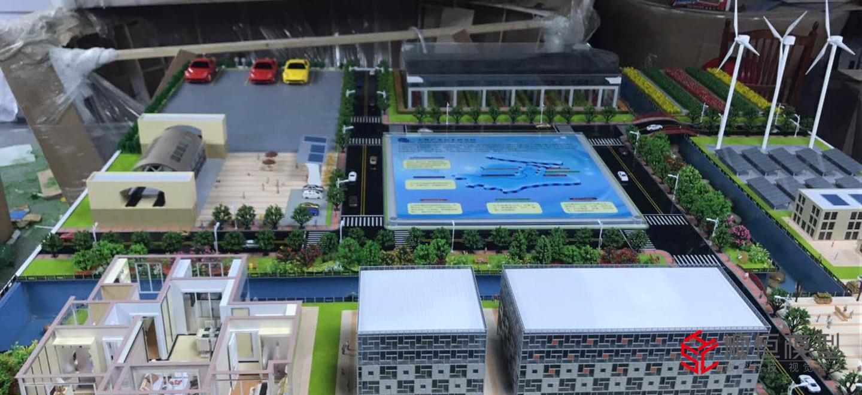 智慧城市|智慧環保能源沙盤