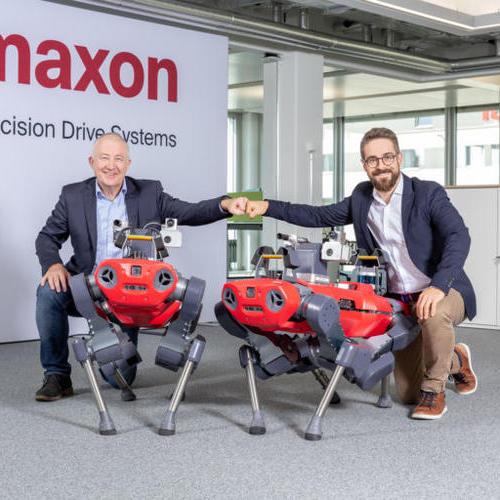 maxon和ANYbotics合作为ANYmal腿式检查机器人提供驱动器
