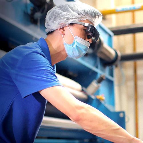 AI测温眼镜工业检修