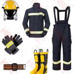 17款消防員滅火防護服五件套