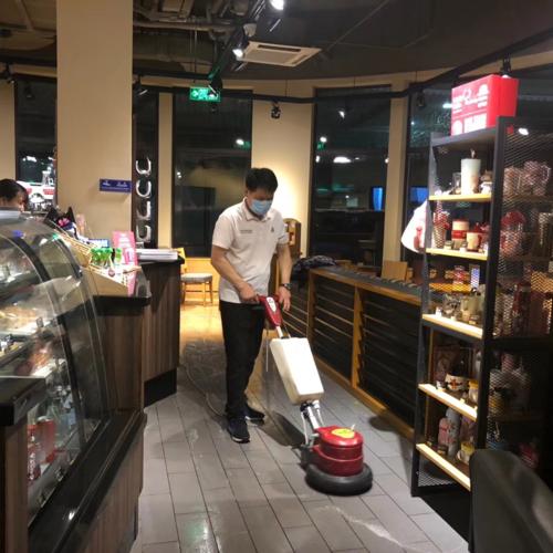 苏州昆山咖啡门店的日常月清工作