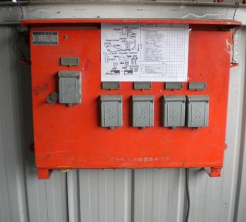仮設電気ボックス