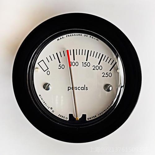紧凑型机械式指针压差表2-5000-250pa