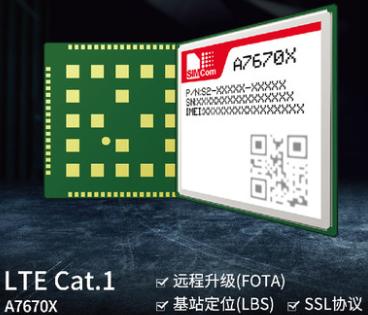 SIMCom芯訊通新一代小尺寸4G CAT-1模組A7670C.png