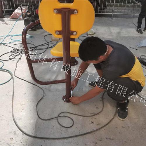 江晖苑小区塑胶地坪工程施工现场