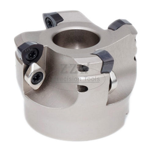 High Feed Face Mill(nickel plated body) , with WPGT Insert