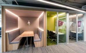 长条型办公室设计布局