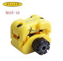 米勒MSAT-16中心束管開剝器 松套管縱向剝皮鉗光纜1-3mm天窗刀
