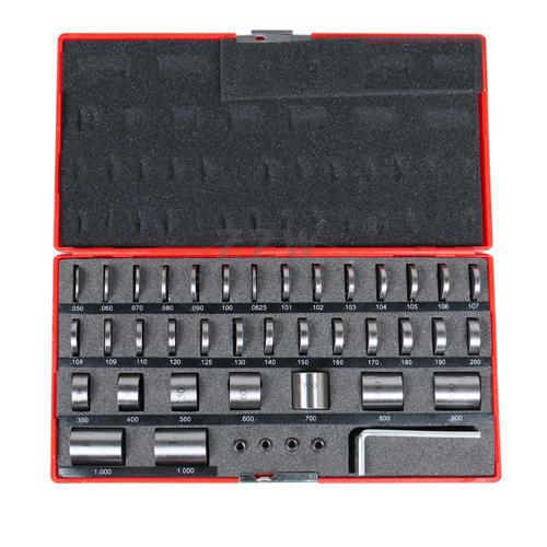 36pcs Steel Space Block Set