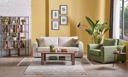 以最少的设计语言,打造现代简约客厅