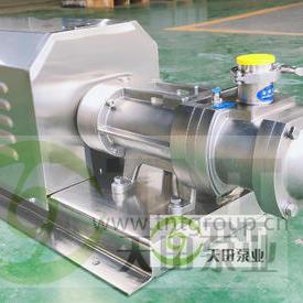 高粘度油脂双螺旋平行泵