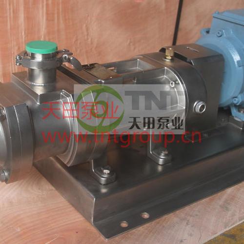 双螺旋输送平行泵