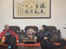 云南省昭通市文旅局→长携团队亲赴李也文旅,助推旅游的发展