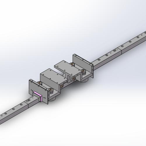 F62型方型导轨,地轨专用重载滚轮导轨