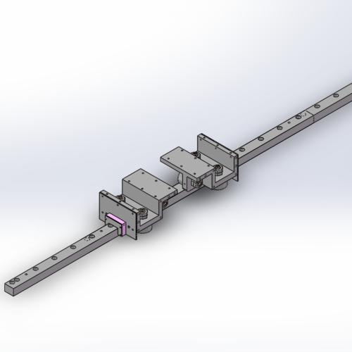 F90型方型滚轮导轨,地轨专用重载滚轮导轨