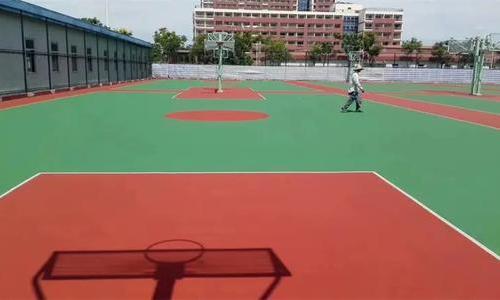 塑胶网球场施工厂家