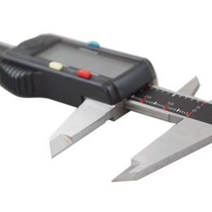 Electronic Digital Caliper with Extra Large Screen, Left-Hand
