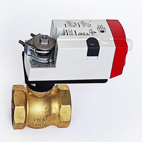 霍尼韦尔DN65螺纹球阀配执行器CN7220A2007球阀VBA216-065P