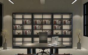 现代风格大型高端老板办公室设计